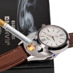 Watch with a lighter